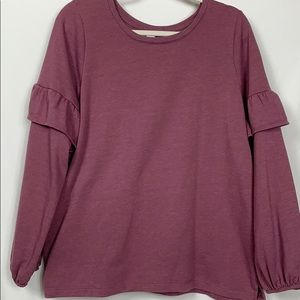 Old Navy mauve colored long sleeved sweatshirt XL